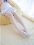 [森萝财团]萝莉丝足写真 R15-006 水嫩嫩的白丝美足(5)