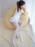 [森萝财团]萝莉丝足写真 R15-006 水嫩嫩的白丝美足(8)
