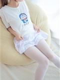[森萝财团]萝莉丝足写真 R15-006 水嫩嫩的白丝美足(10)