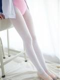 [森萝财团]萝莉丝足写真 R15-012 白丝粉红少女(2)