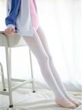 [森萝财团]萝莉丝足写真 R15-012 白丝粉红少女(3)