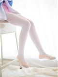 [森萝财团]萝莉丝足写真 R15-012 白丝粉红少女(12)