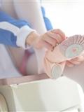 [森萝财团]萝莉丝足写真 R15-012 白丝粉红少女(15)