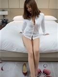闫盼盼写真 黑丝衬衫女郎WH-182(6)