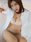 闫盼盼写真 黑丝衬衫女郎WH-182(14)