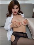 闫盼盼写真 黑丝衬衫女郎WH-182(20)
