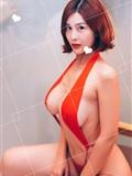巨乳女神闫盼盼 浴室红妆(5)