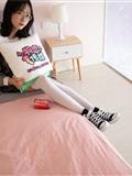 物戀傳媒 No.112 落落-荷葉邊加白色高筒襪,卡哇伊(19)