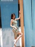 丝慕写_真 SM239 文欣 《时尚街拍》(19)