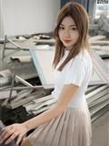MSLASS梦丝女神 2019-08-29 Vol.045 小除夕 废墟的小白鞋(1)