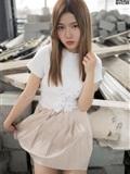MSLASS梦丝女神 2019-08-29 Vol.045 小除夕 废墟的小白鞋(14)