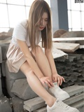 MSLASS梦丝女神 2019-08-29 Vol.045 小除夕 废墟的小白鞋(18)