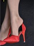 IESS异思趣向  普惠集 012-暖暖 红色高跟鞋B-特写