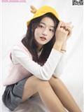 MSLASS梦丝女神 2019-12-08 Vol.080 璇璇3 9分颜值小黄鸭帽