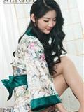 [Ligui丽柜]2019.03.11 Model Yaya 和风青莲(3)