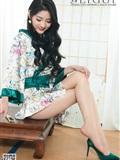[Ligui丽柜]2019.03.11 Model Yaya 和风青莲(6)