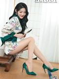 [Ligui丽柜]2019.03.11 Model Yaya 和风青莲(11)