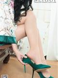 [Ligui丽柜]2019.03.11 Model Yaya 和风青莲(14)