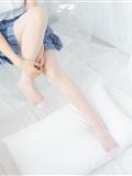 森萝财团写真 - [BETA-030] 蓝色格子裙(10)