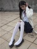 [森萝财团]萝莉丝足写*真 JKFUN-001 甜米 纯纯的白丝学妹