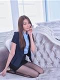 制*服女生 No.002 林少淇 黑丝超短裙(2)
