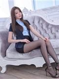 制*服女生 No.002 林少淇 黑丝超短裙(17)