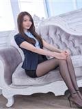 制*服女生 No.002 林少淇 黑丝超短裙(18)
