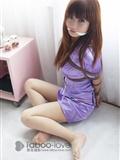 NO.077 誘惑紫色空姐 禁忌攝影繩藝(8)