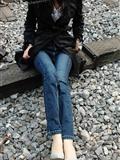 丝袜牛仔裤 美女写真 波斯猫儿合集33