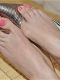 Fannie芬妮高清原图之粉雕玉琢(银色船鞋)NO.140