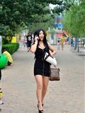 [户外街*拍] 2013.09.11 超黑短裙包臀高跟美 女