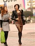 [户外街*拍] 2013.09.10 豹纹小虎皮裙看看就行