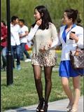 [户外街*拍] 2013.09.12 超靓的黑丝女孩和她的妈妈