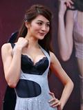 板桥大远百吴亚馨代言思薇尔内衣 国产模特美女品牌内衣秀内衣