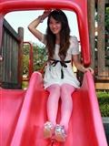丝图阁 STGNo.035 WenZhen 丝袜美女唯美套图